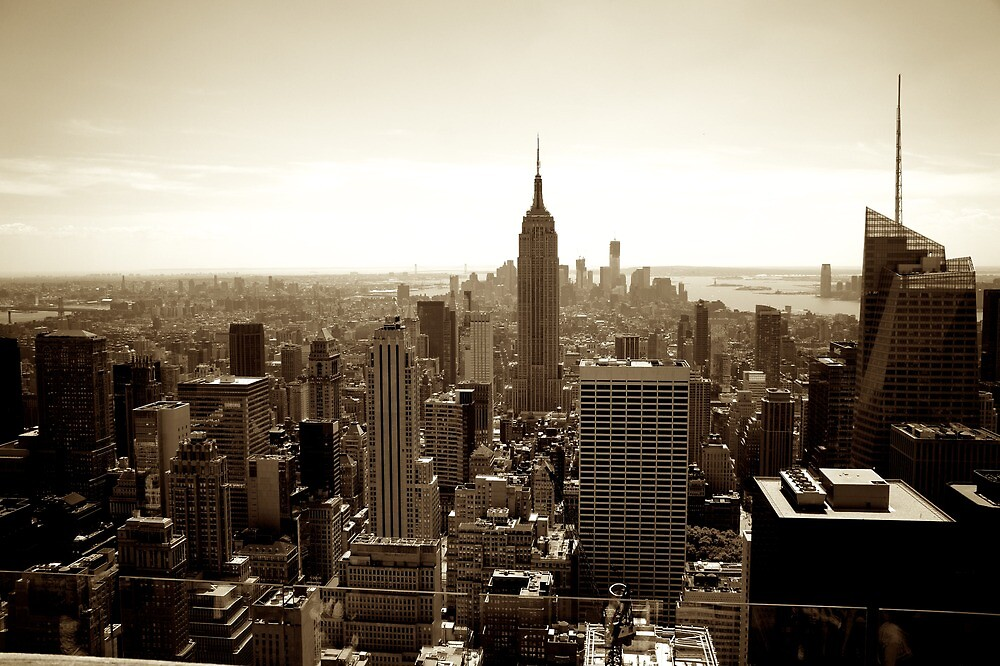 Manhattan from Top of the Rock by PlanetFranck