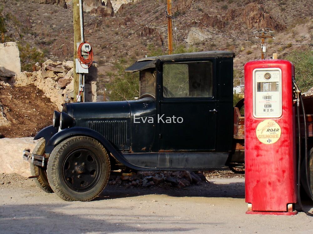 jalopy and gas tank by Eva Kato