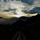 Sunset in Austria by forfrysning