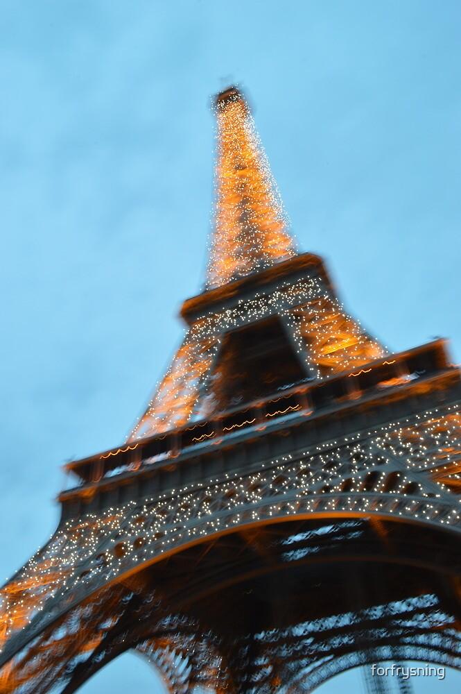 Eiffel Tower by forfrysning