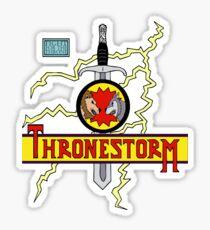 Thronestorm Sticker