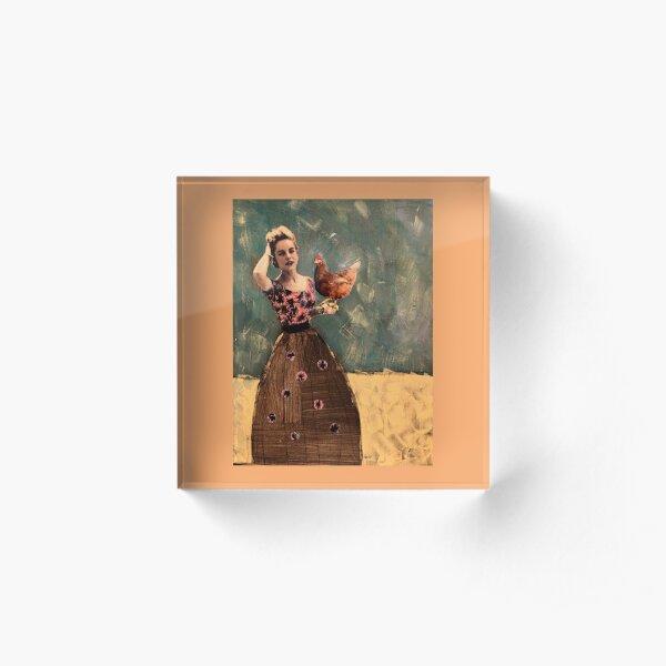 dear little hen of mine Acrylic Block
