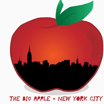 THE BIG APPLE - NYC by tapels