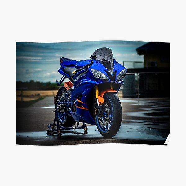 Yamaha R6R Poster