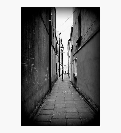The hidden alley  Photographic Print
