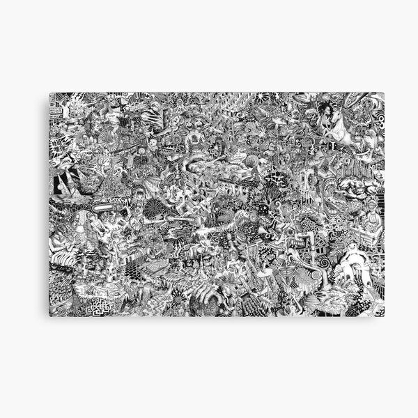 Epic Chaos Canvas Print