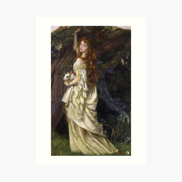Arthur Hughes - Ophelia Kunstdruck