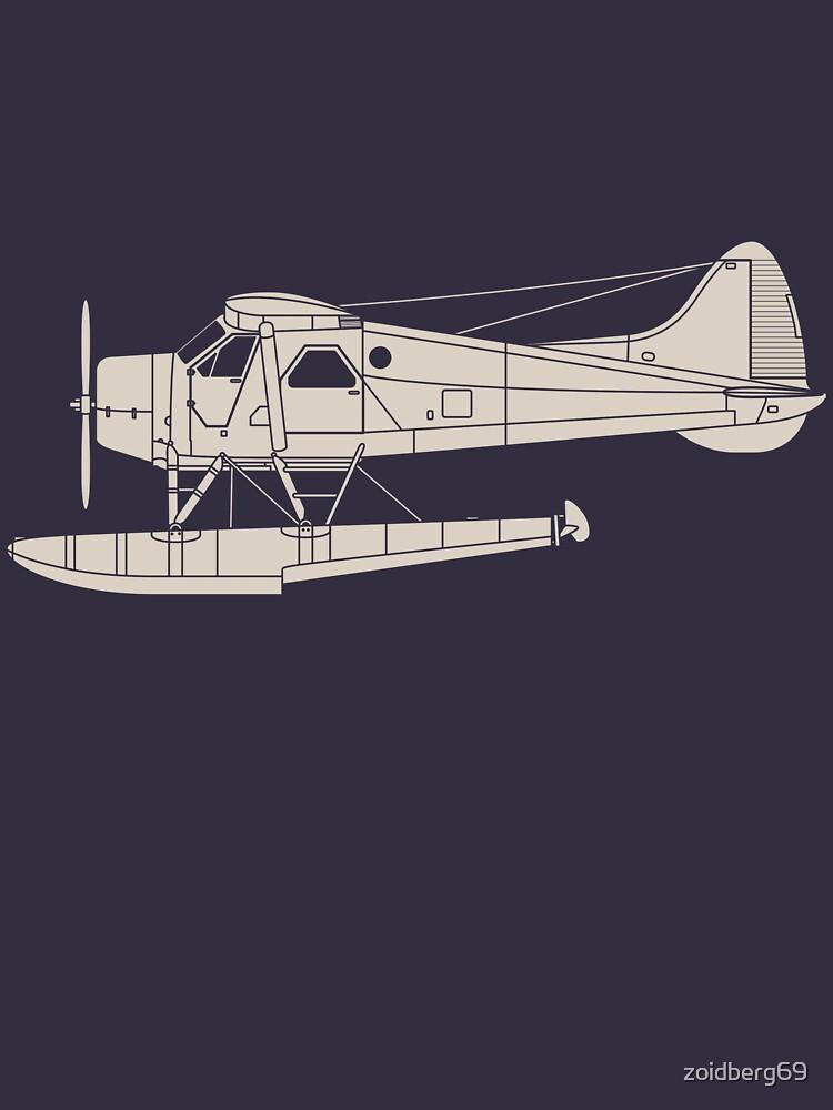 de Havilland Canada (DHC-2) Beaver by zoidberg69