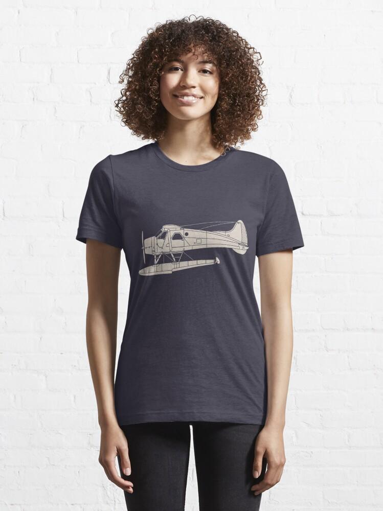 Alternate view of de Havilland Canada (DHC-2) Beaver Essential T-Shirt