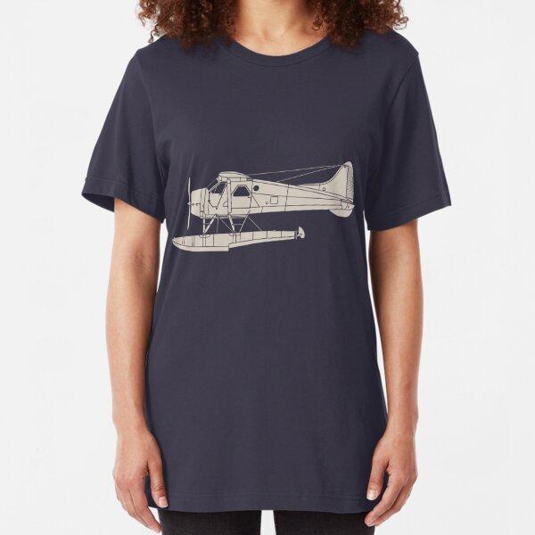 de Havilland Canada (DHC-2) Beaver Slim Fit T-Shirt