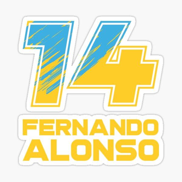 Fernando Alonso Pegatina