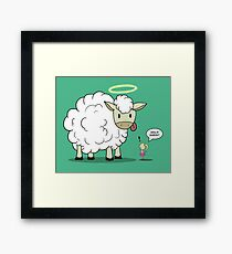 Holy Sheep! Framed Print
