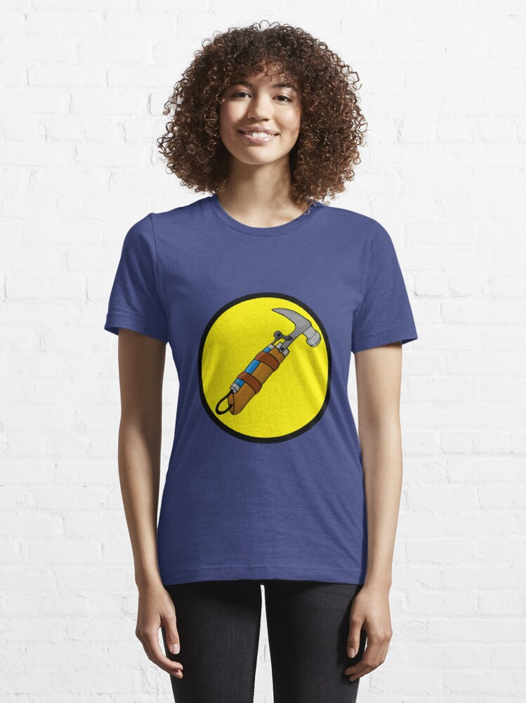 Alternate view of Captain Auto Hammer's Logo Essential T-Shirt