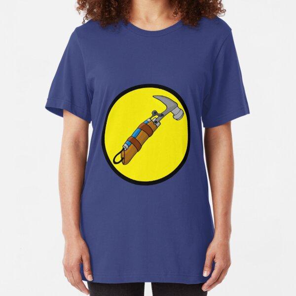 Captain Auto Hammer's Logo Slim Fit T-Shirt
