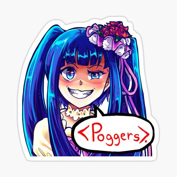 Erika Furudo Poggers Sticker