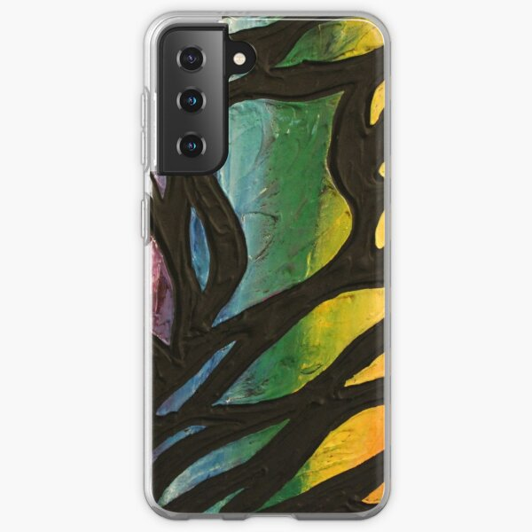 Fire Flame 2 Painting Samsung Galaxy Soft Case
