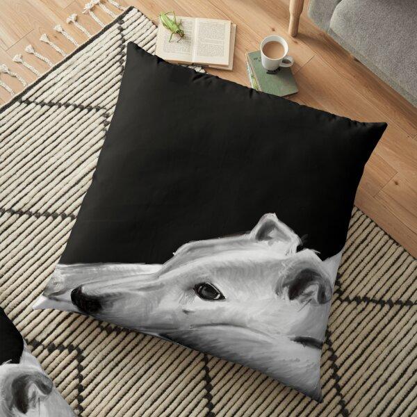The Sweet Greyhound (Pepe) Floor Pillow