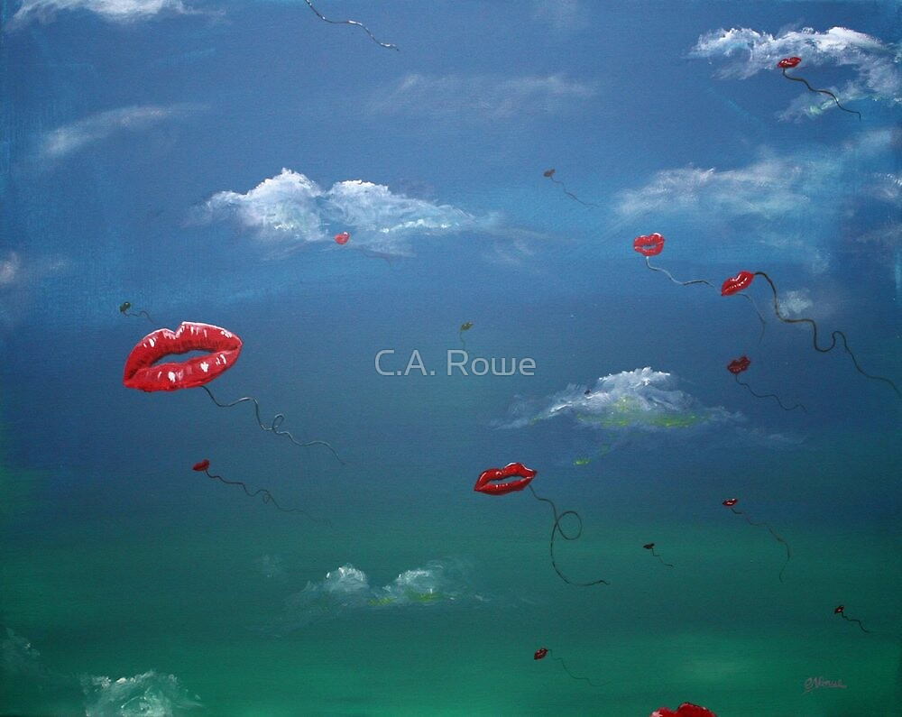 Kisses in the Wind by C.A. Rowe