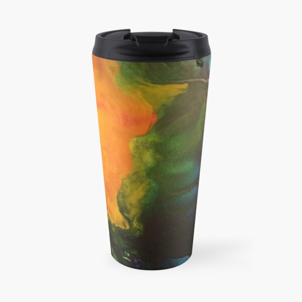 Color Painting Travel Mug
