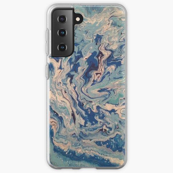Ocean Wishy Washy Painting Samsung Galaxy Soft Case