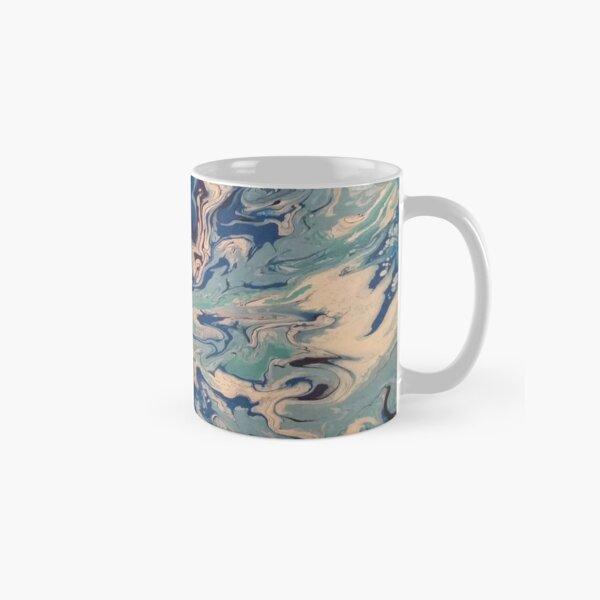 Ocean Wishy Washy Painting Classic Mug