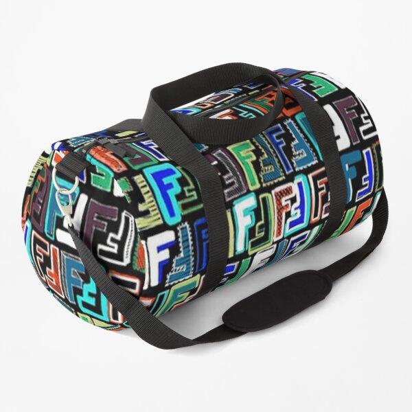 Fendi poster Duffle Bag