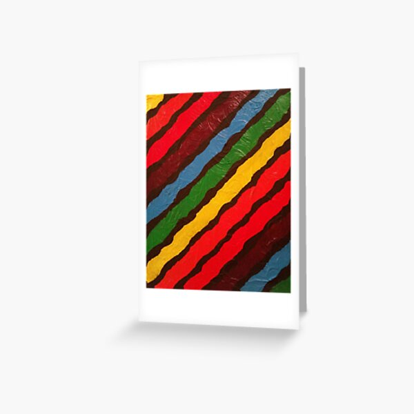 The Power of Expression Painting Greeting Card