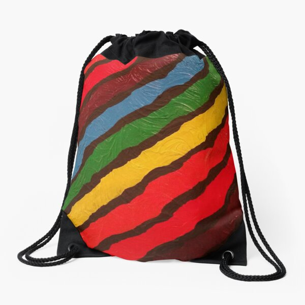 The Power of Expression Painting Drawstring Bag