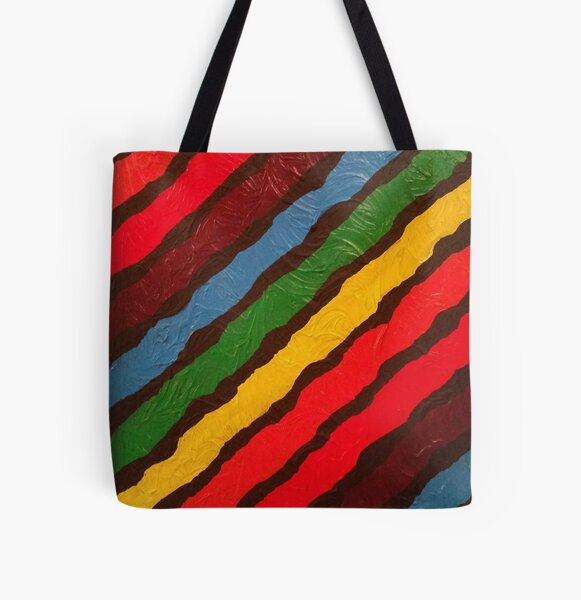The Power of Expression Painting All Over Print Tote Bag