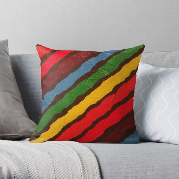 The Power of Expression Painting Throw Pillow