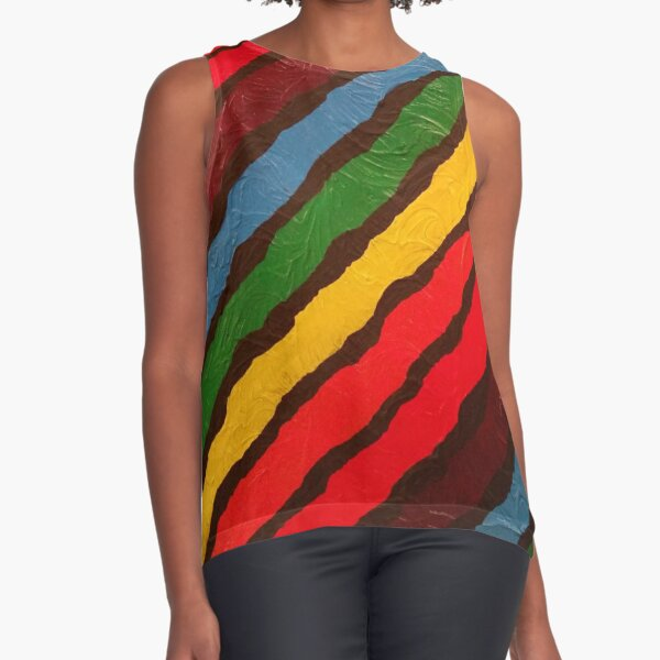 The Power of Expression Painting Sleeveless Top