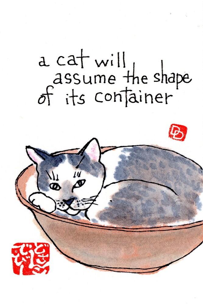 Bowlful of Cat by dosankodebbie