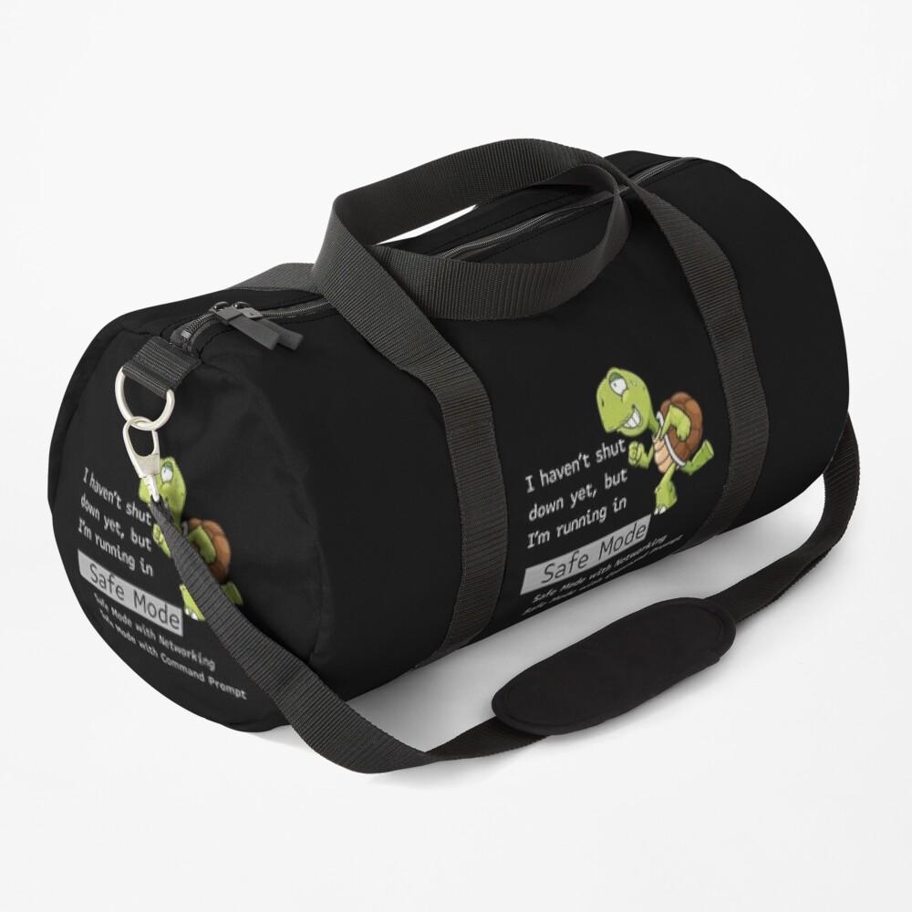 Running in Safe Mode. Duffle Bag
