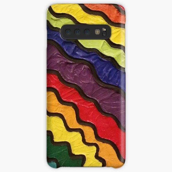 Rainbow Happiness Painting Samsung Galaxy Snap Case