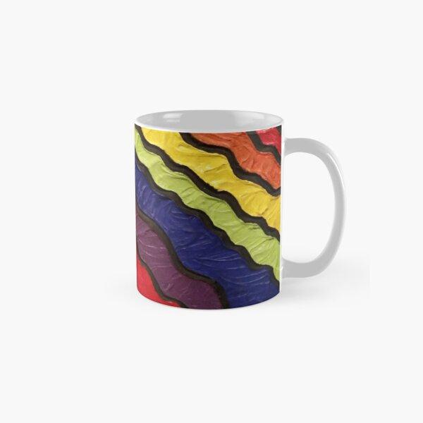 Rainbow Happiness Painting Classic Mug