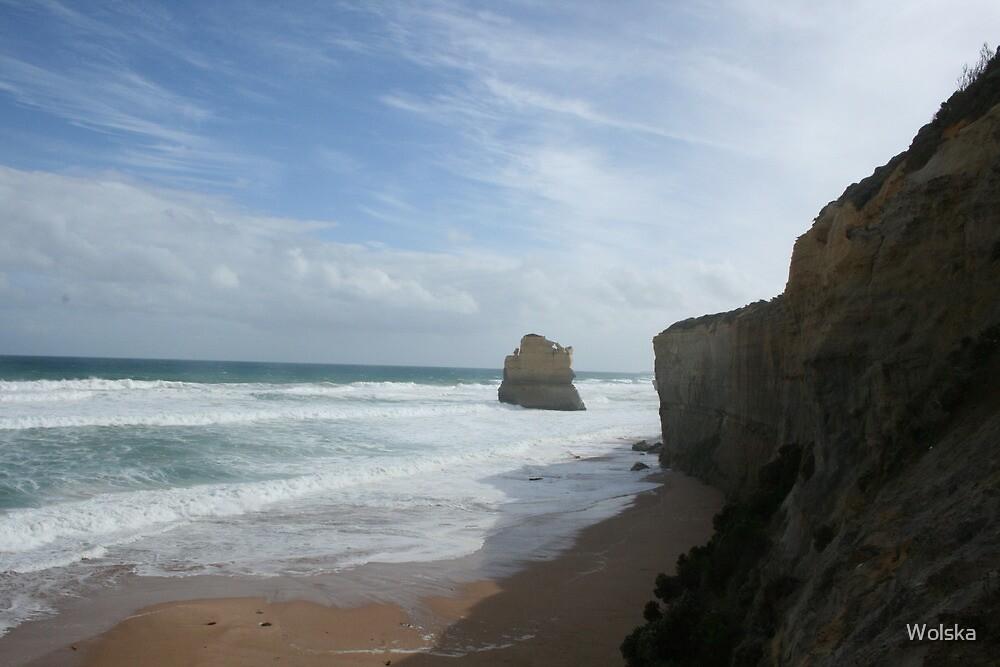 Beach in Australia by Wolska