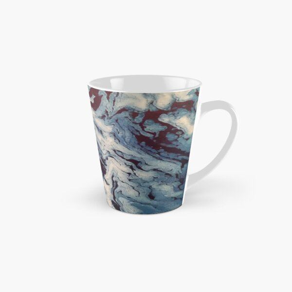 Ocean Wishy Washy Painting Tall Mug