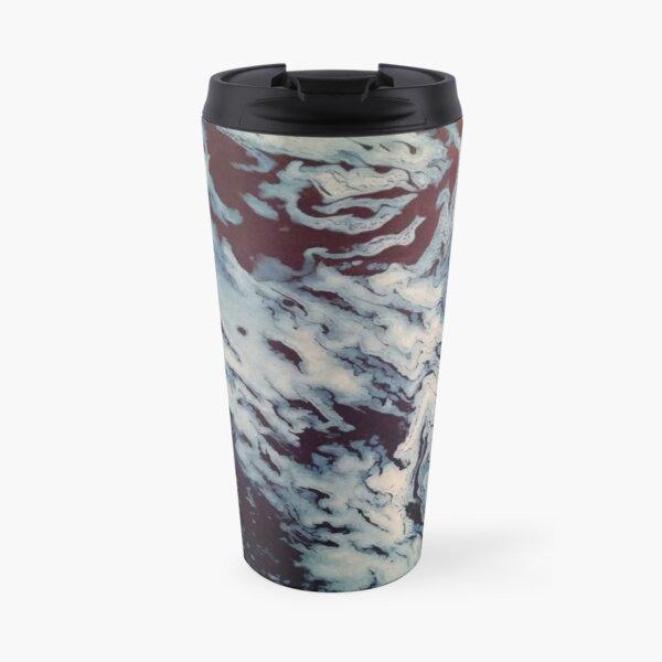 Ocean Wishy Washy Painting Travel Mug