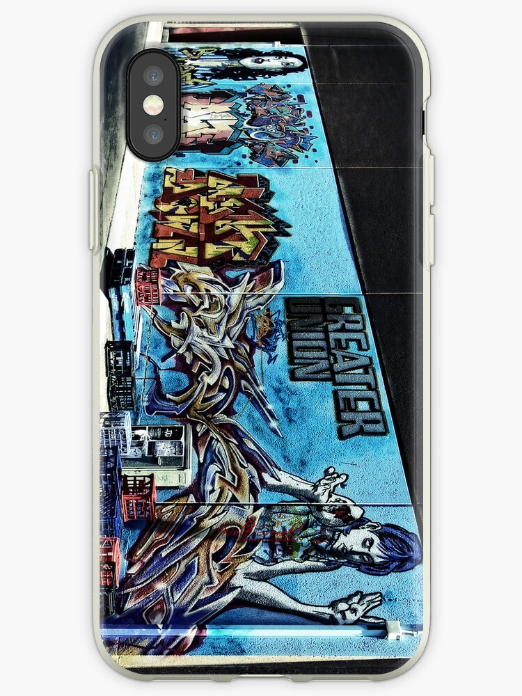 Graffiti iPhone case by Wolf Sverak