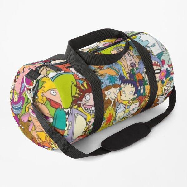 90s Cartoons Duffle Bag