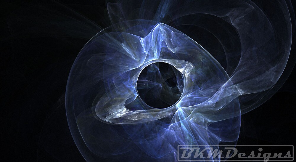 Blue pulsar by BKMillerDesigns