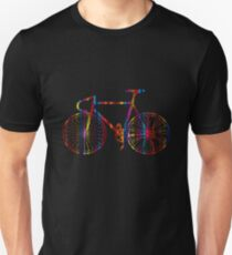 Rainbow Bike Unisex T-Shirt