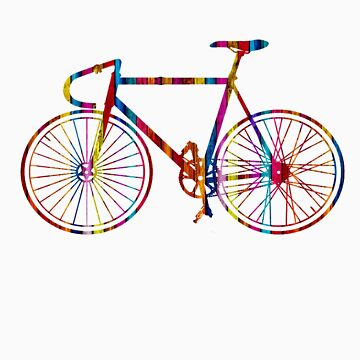 Rainbow Bike by kduncanj