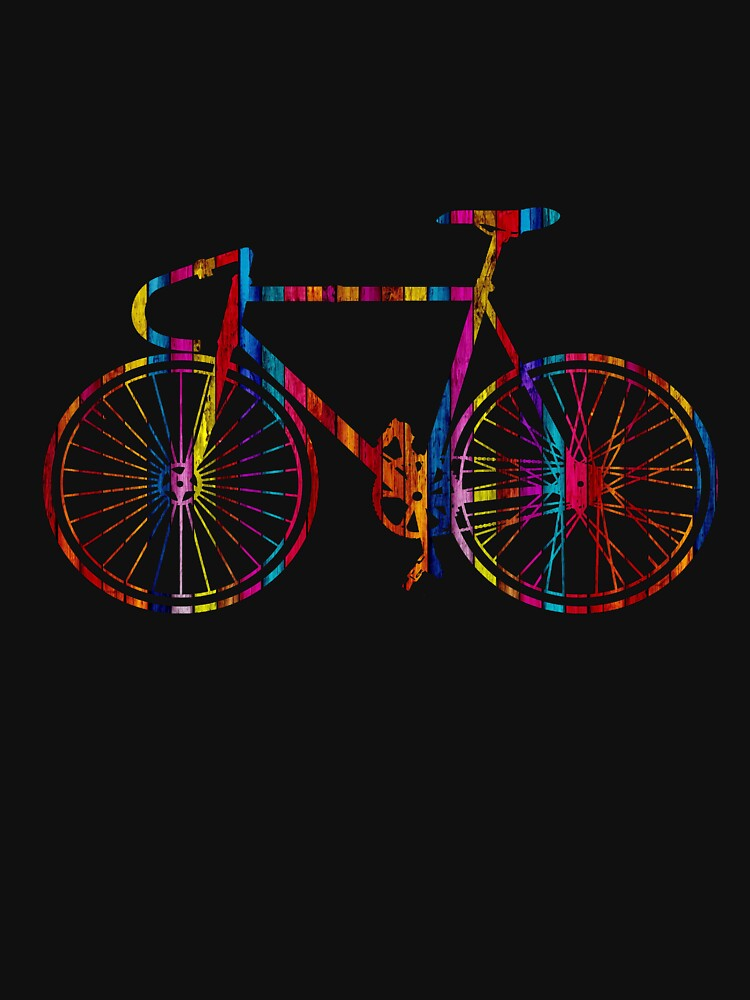 TShirtGifter presents: Rainbow Bike | Unisex T-Shirt