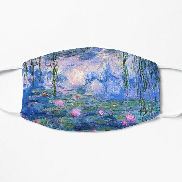 Water Lilies Monet Flat Mask