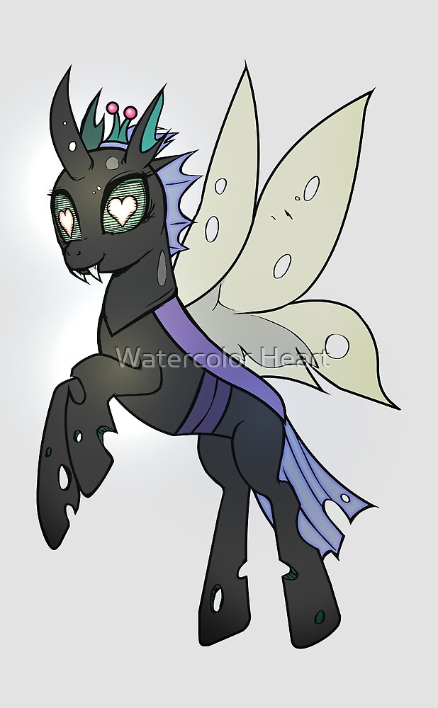 HeartNotes Changeling by ButtercupSaiyan