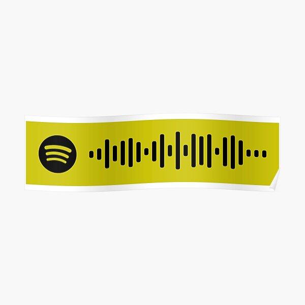 RICH & SAD - POST MALONE - Spotify Code Poster