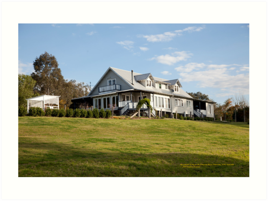 Riverbank house on Paterson River, Paterson, NSW by SNPenfold
