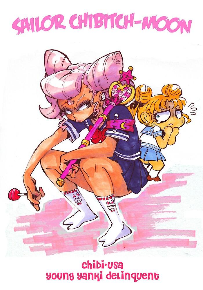 Sailor Chibi Moon by Rafchu