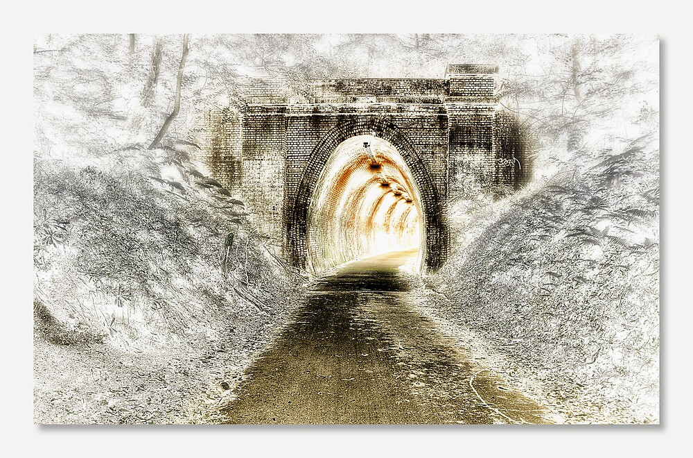 Fernleigh Tunnel 01 by kevin Chippindall